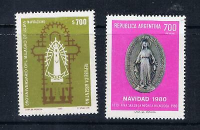 Argentina – Christmas 1980 (F19) – Free postage