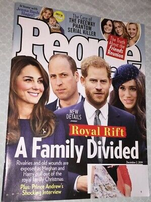 People Weekly Magazine December 2, 2019 Royal Rift A Family Divided