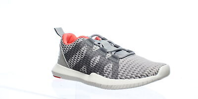Reebok Womens Reago Pulse Gray Cross Training Shoes Size 7.5 (774982)