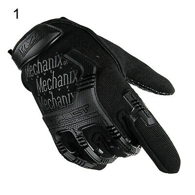 Tactical Army Military Gloves Rubber Hard Knuckle Outdoor Full Finger Touch