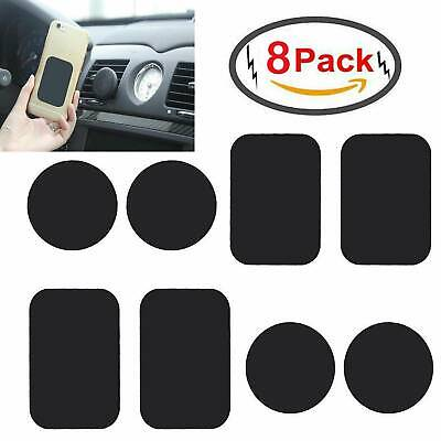 8X Thin Metal Plate Disc for Cell Phone Magnet Holder Magnetic Car Mount Sticker