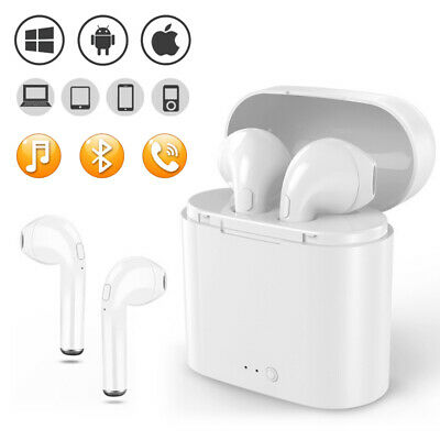 i7S TWS Wireless Bluetooth Headphones Earphones Earbuds For Any Bluetooth Device