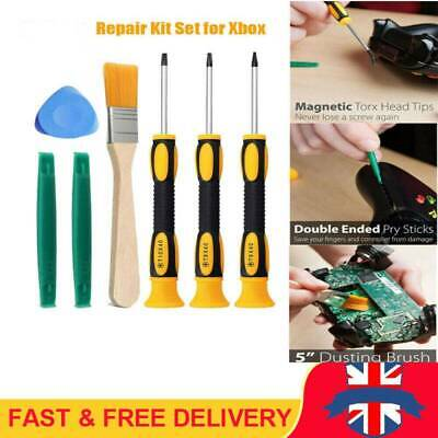 For Xbox One /Xbox 360 Controller PS3/PS4 7Pcs Screwdriver Tool Repair Kit Set