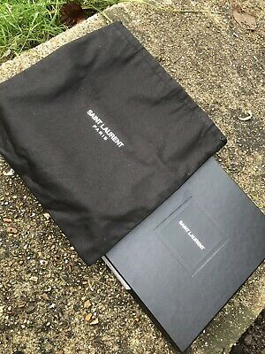 Saint Laurent Empty Box for shoulder bag comes with dust bag