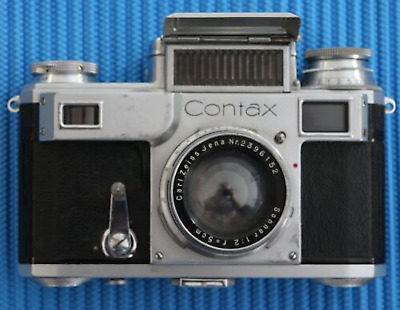 Vintage 35Mm Contax Iii Rangefinder Camera Woth Sonnar Lens