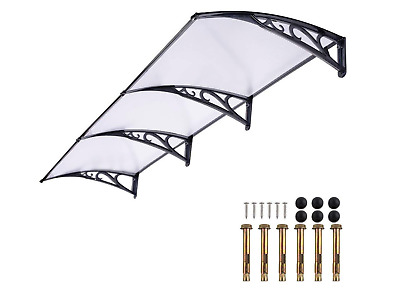 Door Canopy Awning Doorway Covers Rain Snow Shelter Front Porches NEW Shelters