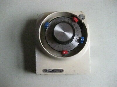 Randall 103 Mechanical Timer Clock Spares / Repairs For Parts  Free Uk Post