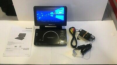 panasonic dvd-LS92 With Power Cord Av,Cord ,Car Adapter Charger.