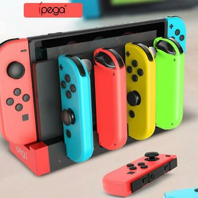 PG-9186 Controller Charger Charging Dock Stand for Nintendo Switch Joy-Con UK