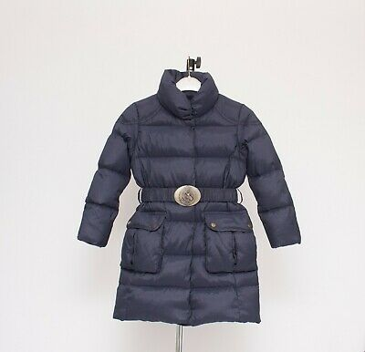 RALPH LAUREN Down Coat Girls Puffa Parka Belted Jacket 6 Years