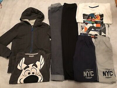 Boys Clothes Bundle 9-10 Years Hoodie T-shirts Jogging Tracksuit Bottoms Shorts