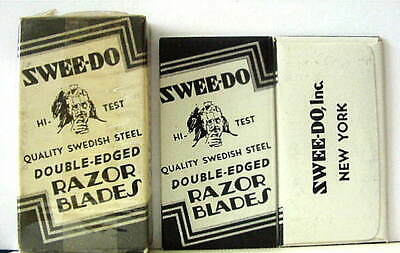 Vintage SWEE-DO FULL BOX DE  Safety Razor Blades