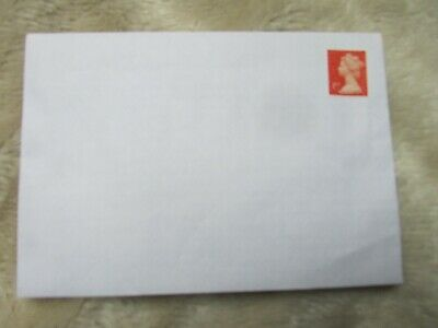 100 PRE-STAMPED  C6 PEEL & SEAL ENVELOPES WITH  1st CLASS RED SECURITY STAMPS
