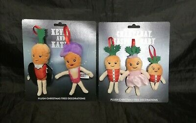 ALDI Kevin the Carrot 2019 Official Christmas Tree Decorations Set - Circus