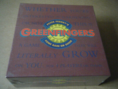 """Peter Feeney's """"GREENFINGERS"""" board game. Ivy League games 1990. New and Sealed."""