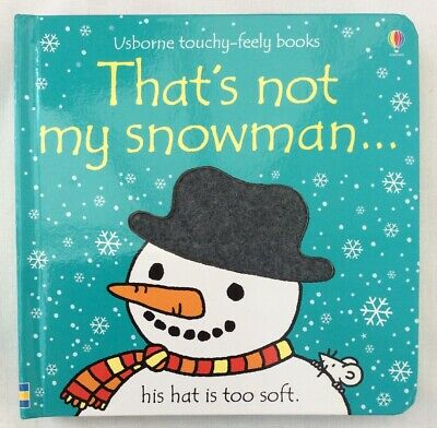 Usborne That's Not My Snowman Book