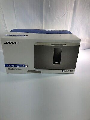 Bose SoundTouch 20 Series III Wireless Music System with Remote Control, White