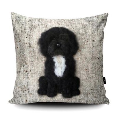 Cockapoo Cushion Cover Personalised Dog Christmas Pillow Name Gift Puppy RD20