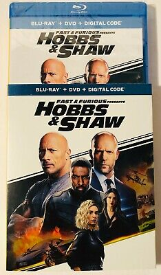 Fast And The Furious Presents Hobbs And Shaw (Blu-ray+DVD+Digital) BRAND NEW