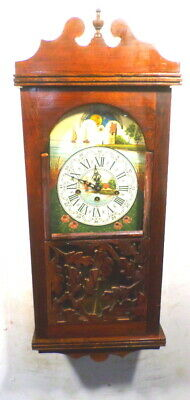 Moon Dial And Westminister Chiming German Regulator Wall Clock