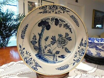 Early 18th. Cent. Chinese Porcelain Plate Blue & White Qing