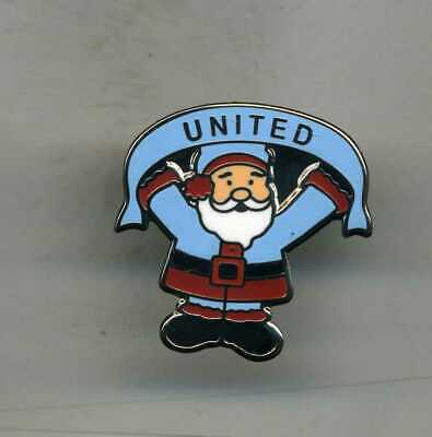 Santa  Blue  West Ham Utd Fc     Football Pin Badge