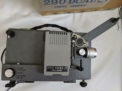 Copal Sekonic 290 Dual S 8mm projector in box - working