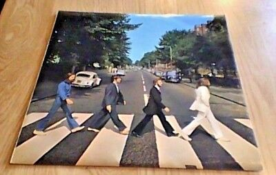 THE BEATLES ABBEY ROAD 2nd Press Aligned Apple Stereo UK LP 1969 PCS 7088