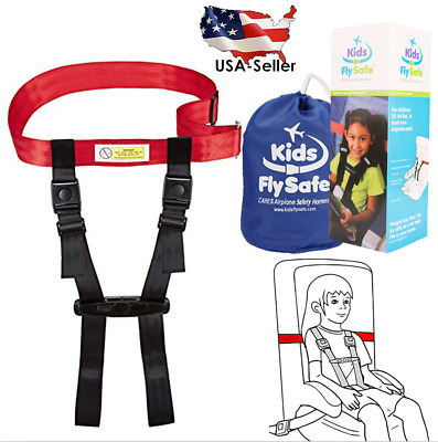 Cares Child Airplane Travel Harness Safety Clip Strap Kids Fly Safe System FAA
