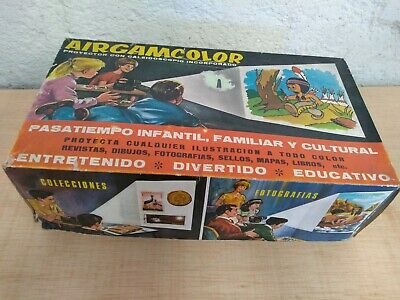 Proyector Antiguo Airgamcolor