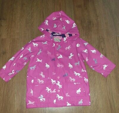 Hatley Colour changing Unicorn Raincoat AGE 3