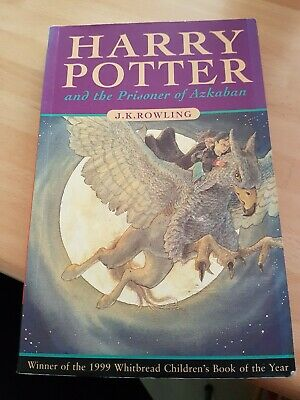 HARRY POTTER AND THE PRISONER OF AZKABAN First Edition 1st PRINT  Paperback