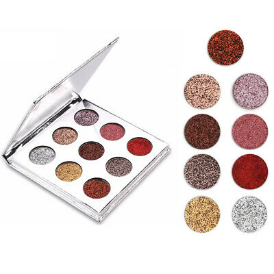 Pro 9 Colors Eye Shadow Cosmetic Makeup Shimmer Matte Eyeshadow Palette Set