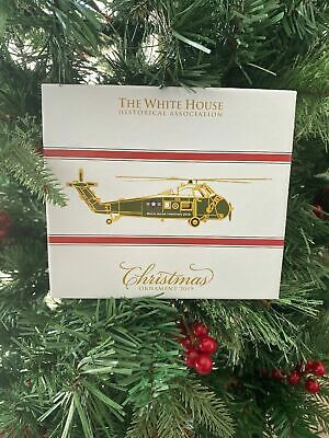 New Box White House Historical Association Christmas Ornament 2019