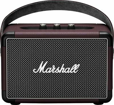 Marshall Kilburn II Portable Bluetooth Speaker, Burgundy