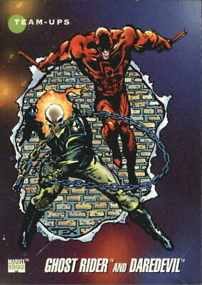 Ghost Rider and Daredevil  # 90 1992 Marvel Universe Series 3 Base Trading Card