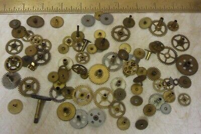 Lots Mantle--Alarm Clock Etc Wheels Clockmaker--Repairer--(Wh) Free Post