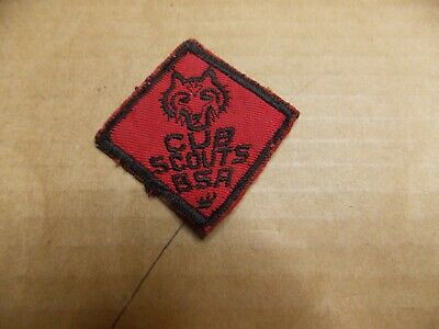 Wolf??  Cub  Scouts  BSA  Patch