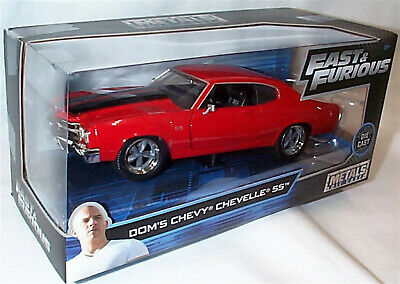 FAST & FURIOUS Dom's Chevy Chevelle SS 1/24 SCALE DIECAST Jada 97193 BB