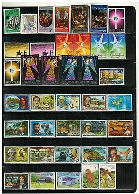 Lot of Christmas Is. Old Stamps MNH