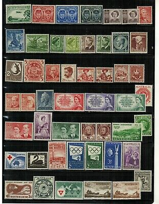 Lot of Australia Old Stamps MNH