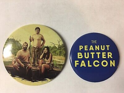 The Peanut Butter Falcon Buttons From Studio: Shia Labeouf