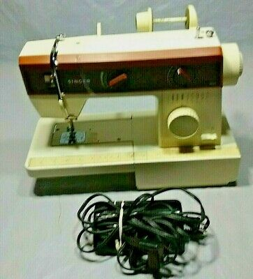 Vintage Heavy Duty Singer 6212B Sewing Machine with Foot Pedal