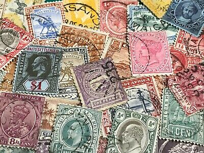 British Commonwealth pre decimal collection QV onwards - mixed condition,