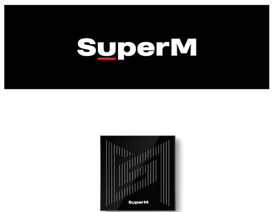 SUPERM 1st Mini Album CD+Photo Book+Card Korea Version Ship from Korea KPOP
