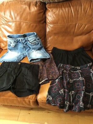 Bundle Ladies Skirts And Shorts Size S And Xs Zara Next