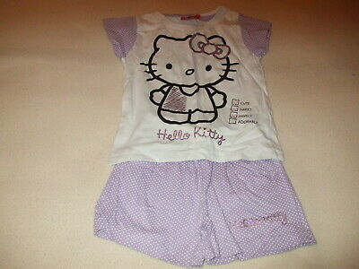 Girls - Hello Kitty - Outfit - 5-6 Years - White