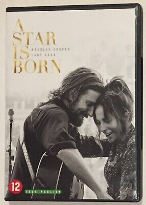 Dvd - A Star Is Born -(2018) - Lady Gaga - Bradley Cooper  🎸🎤🎹