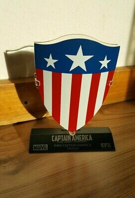 The First Avenger Captain America Shield 1:6 Scaled Replica MARVEL LootCrate Exc
