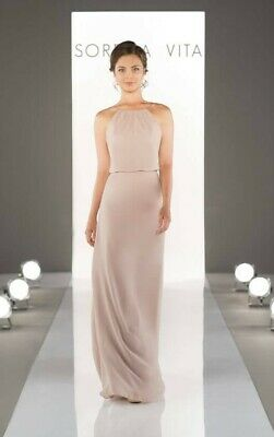 Sorella Vita bridesmaid dress style 8872 Vintage Rose size 12